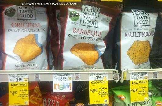 $0.75 Food Should Taste Good Chips @ Safeway