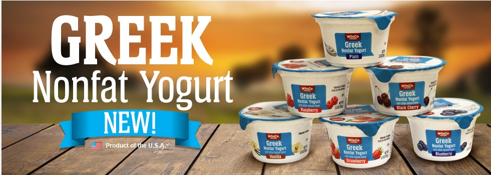 FREE Greek Yogurt(Winco brand) @ Winco