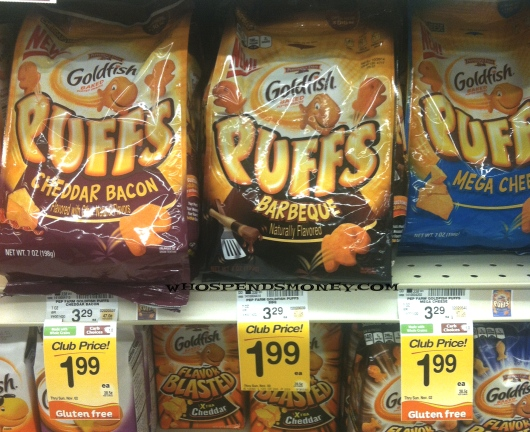 $0.99 Pepperidge Goldfish Puffs @ Safeway