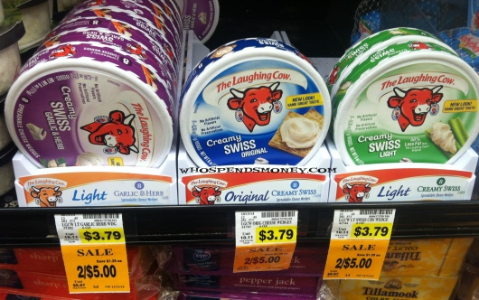 $1 Laughing Cow 6 oz Cheese @ Fred Meyer