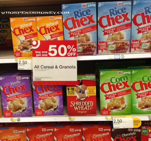 $0.88 Chex Cereal @ Target