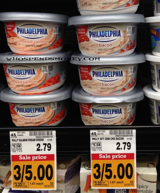 $0.67 Philadelphia Bacon Cream Cheese + More Deals @ Fred Meyer