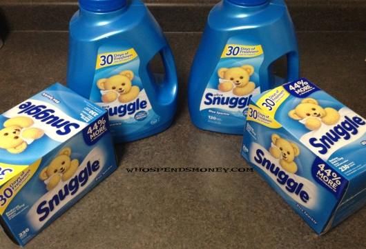 $1.00 90oz or230ct Snuggle(BIG Bottles) @ Safeway