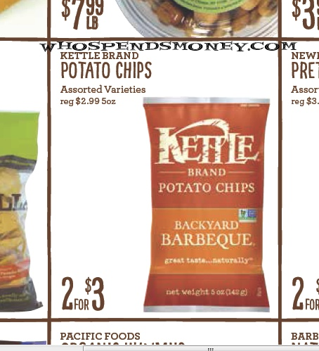 $1 Kettle Brand Chips @ New Seasons