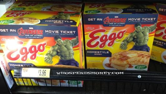 $4(or cheaper) 24ct Eggo Waffles + FREE Movie Ticket @ Walmart
