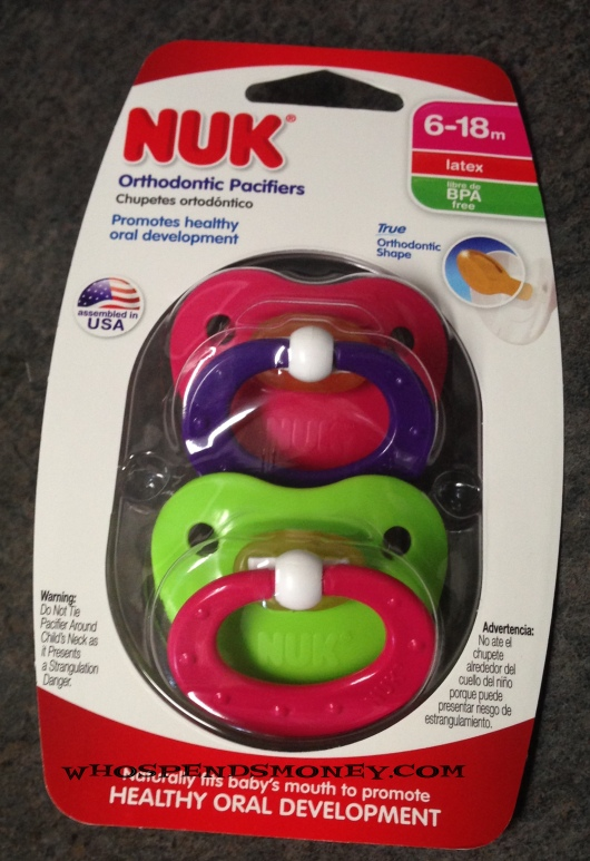 $0.99 NUK 2ct Pacifiers @ Fred Meyer