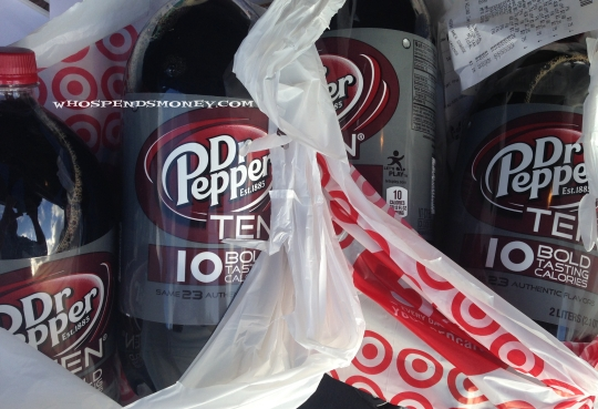 $0.25 Dr Pepper TEN 2liters @ Target