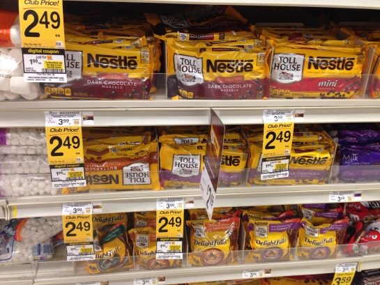 $0.99 Nestle Toll House Morsels @ Safeway