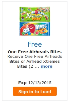 FREE Airheads Bites – LOAD TODAY @ Fred Meyer/QFC