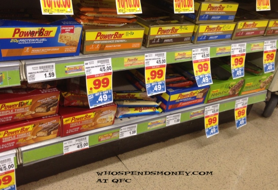$0.25 PowerBars @ Fred Meyer (MM at QFC)