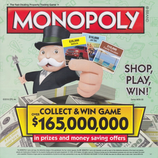 monopoly promotion