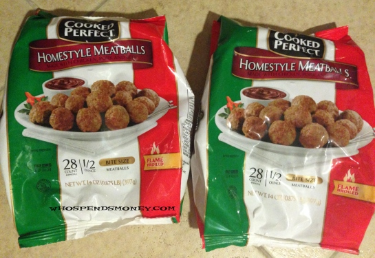 $0.50 Cooked Perfect Meatballs @ Safeway