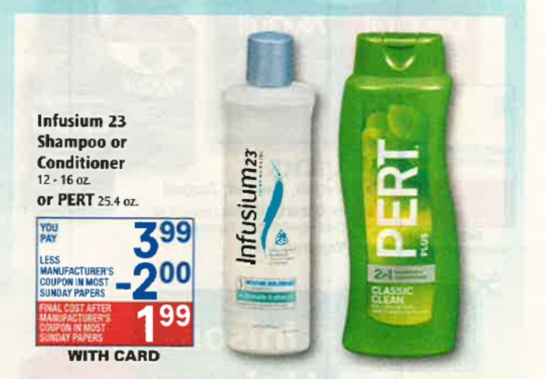 Infusium coupons