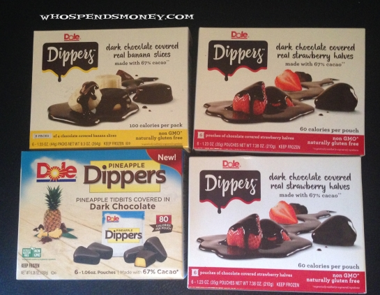 $0.62-$1 Dole Dippers @ Walmart & Safeway