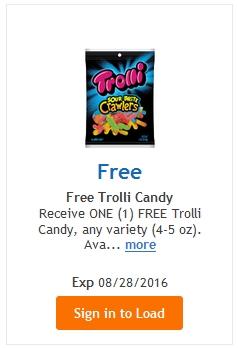 FREE Trolli Candy (4-5oz) – LOAD TODAY @ Fred Meyer/QFC