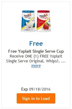 FREE Yoplait Yogurt – LOAD TODAY @ Fred Meyer/QFC