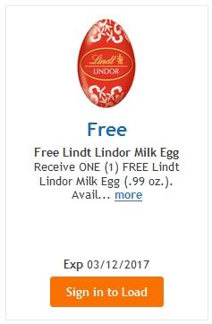 FREE Lindt Lindor Milk Egg – LOAD TODAY @ Fred Meyer/QFC