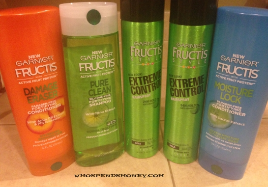 $0.10 Garnier Shampoo and Conditioner and Stylers @ Safeway