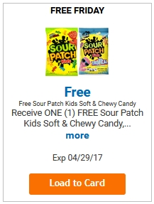 FREE Sour Patch Kids Candy LOAD TODAY @ Fred Meyer/QFC