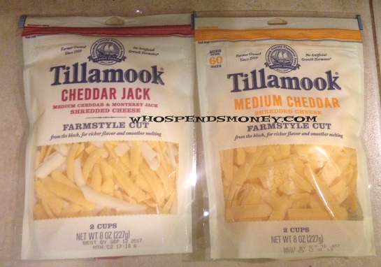 $0.88 Tillamook Farmstyle Shredded Cheese @ Fred Meyer