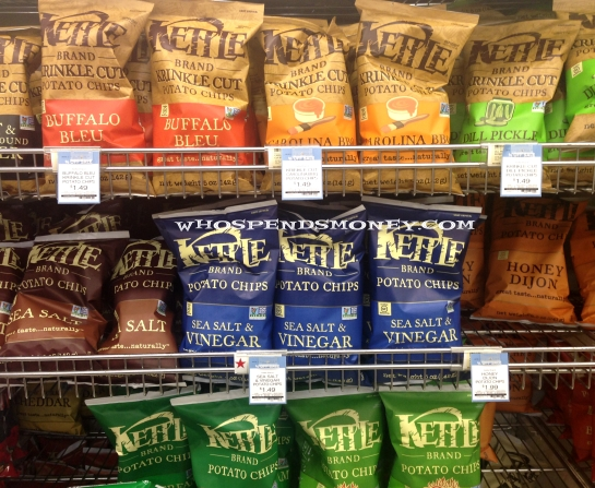 $0.99 Kettle Brand Chips @ New Seasons Market
