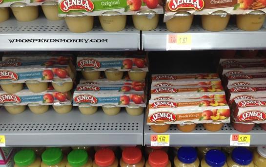 $0 92 Seneca Applesauce 6pk @ Fred Meyer AND Walmart -