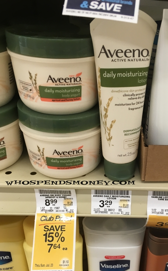 FREE Aveeno Daily Moisturizing Lotion 2.5oz <span style=