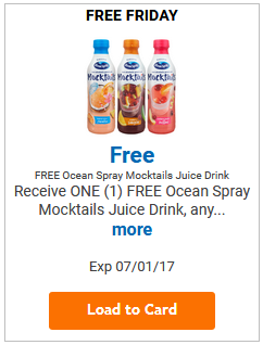 FREE Ocean Spray Mocktail Juice Drink LOAD TODAY @ Fred Meyer/QFC