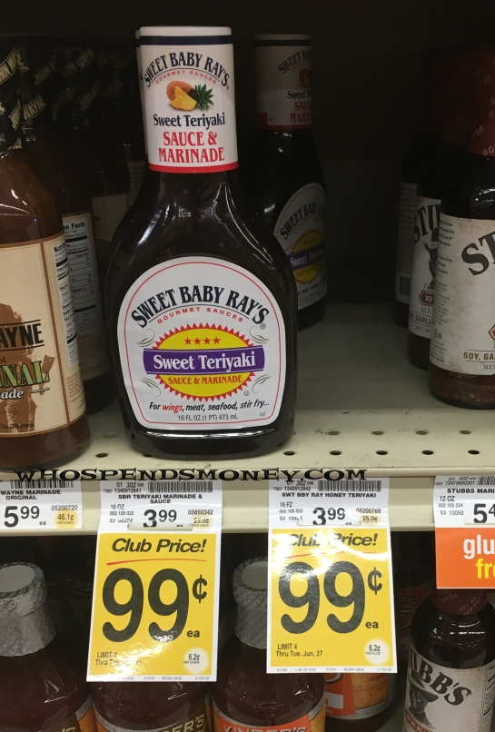 FREE Sweet Baby Rays Wings Sauce & Marinades @ Safeway