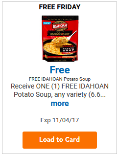 FREE Idahoan Potato Soup LOAD TODAY @ Fred Meyer/QFC