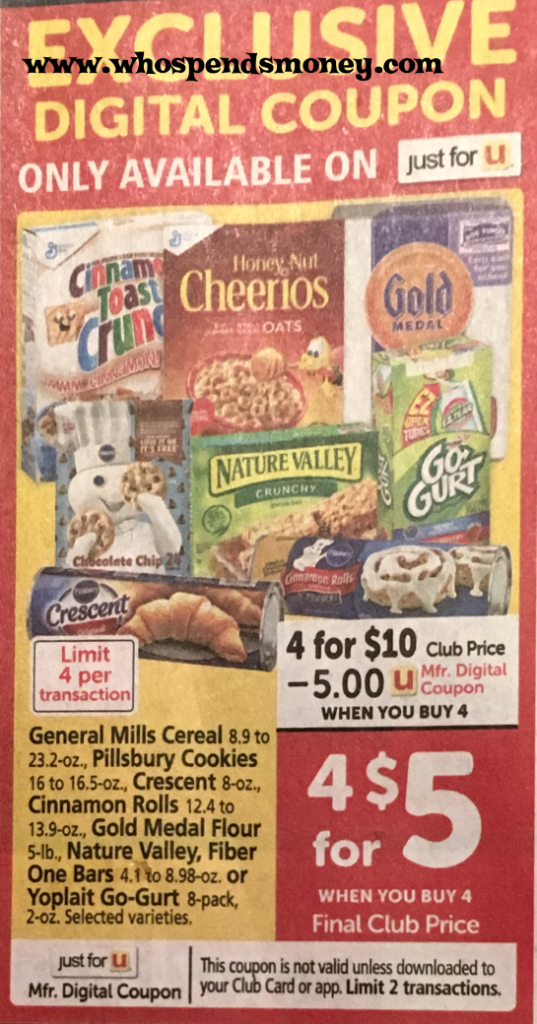 $0.75 Nature Valley Granola Bars @ Safeway {STARTING 10/03/18}